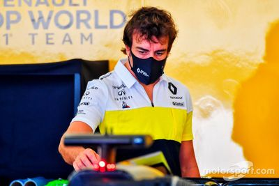 Teste de Fernando Alonso no Bahrein