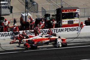 Josef Newgarden, Team Penske Chevrolet, start