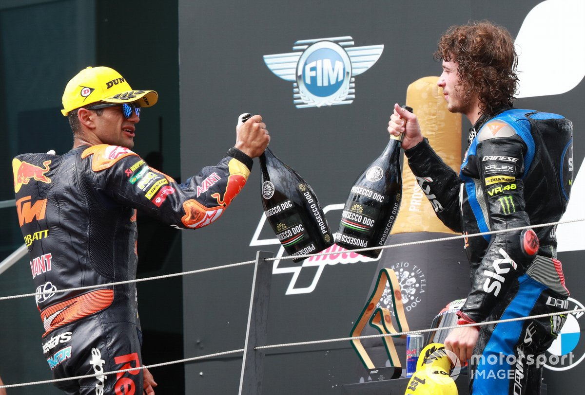 Jorge Martin, Red Bull KTM Ajo Marco Bezzecchi, Sky Racing Team VR46