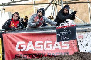 Pitbord Glenn Coldenhoff, Standing Construct GasGas Factory Racing
