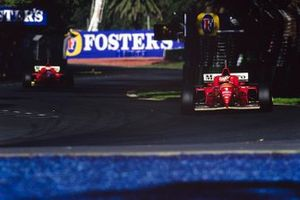Михаэль Шумахер и Эдди Ирвайн, Ferrari F310