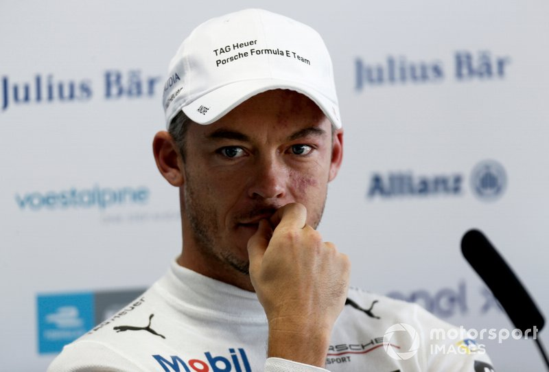 Andre Lotterer, Tag Heuer Porsche in the press conference