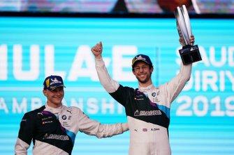 1. Alexander Sims, BMW I Andretti Motorsports, 2. Maximilian Gunther, BMW I Andretti Motorsports