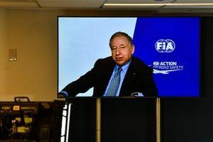 F1-reglementen voor 2021 worden aangekondigd, Jean Todt, President, FIA