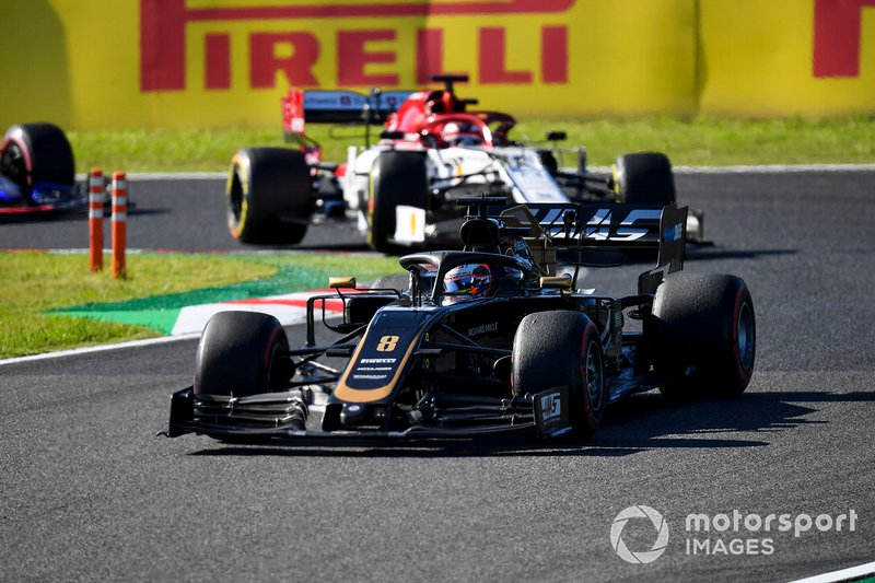 13 - Romain Grosjean, Haas F1 Team VF-19