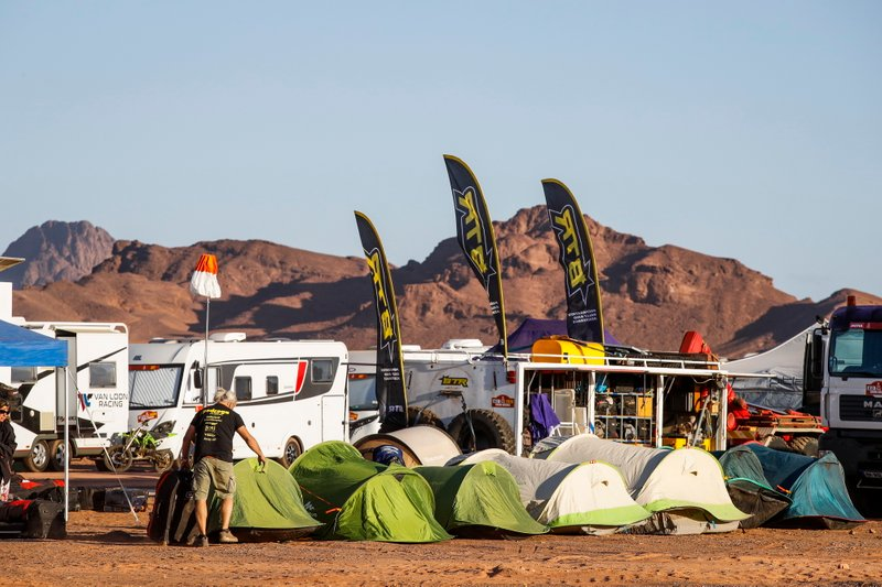Bivouac atmosphere