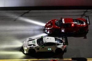 #23 Heart Of Racing Team Aston Martin Vantage GT3, GTD: Roman De Angelis, Nicki Thiim, Ian James, Alex Riberas, #62 Risi Competizione Ferrari 488 GTE, GTLM: Daniel Serra, James Calado