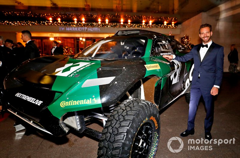 Jean-Eric Vergne con el coche Extreme.E Rally