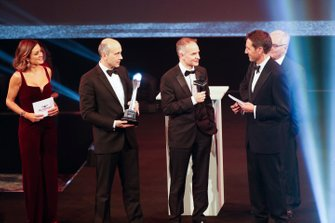 Presentation of the Car of the Year award for the Mercedes AMG F1 W10