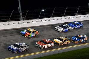 Kevin Harvick, Stewart-Haas Racing, Ford Mustang Busch Light #PIT4BUSCH, Kyle Busch, Joe Gibbs Racing, Toyota Camry M&M's, Matt DiBenedetto, Wood Brothers Racing, Ford Mustang Motorcraft/Quick Lane, Erik Jones, Joe Gibbs Racing, Toyota Camry DeWalt, Ryan Newman, Roush Fenway Racing, Ford Mustang Koch Industries, William Byron, Hendrick Motorsports, Chevrolet Camaro Axalta 'Color of the Year', Kyle Larson, Chip Ganassi Racing, Chevrolet Camaro Credit One Bank