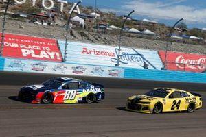 Alex Bowman, Hendrick Motorsports, Chevrolet Camaro Axalta, William Byron, Hendrick Motorsports, Chevrolet Camaro Hertz