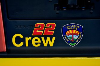 Joey Logano, Team Penske, Ford Mustang Shell Pennzoil decal