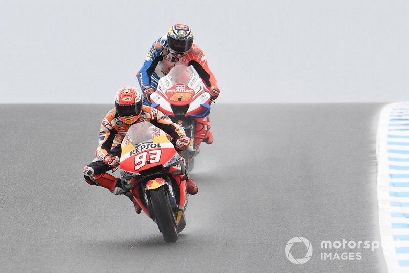 Marc Marquez, Repsol Honda Team,Jack Miller, Pramac Racing