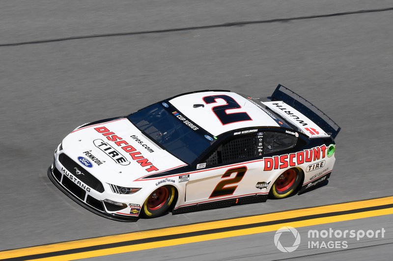 9. Brad Keselowski, Team Penske, Ford Mustang Discount Tire