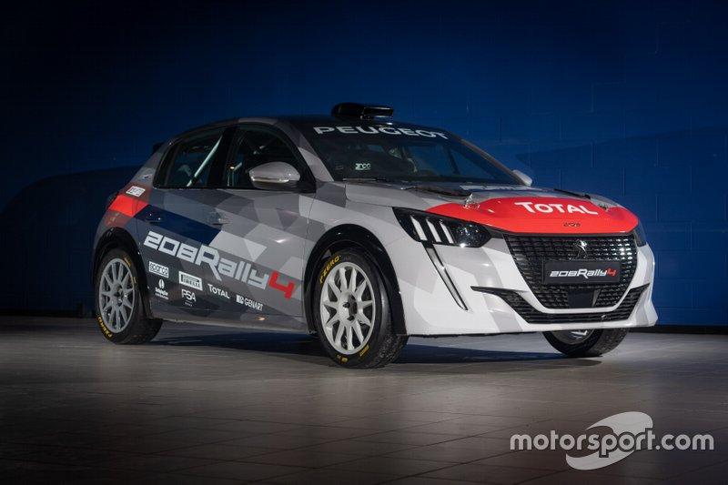Dettagli Peugeot 208 Rally4