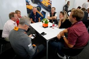 Point presse d'Andreas Seidl, McLaren