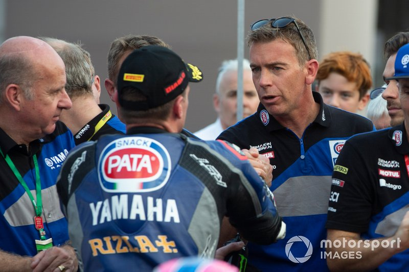 Paul Denning, Alex Lowes, Pata Yamaha