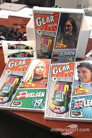 Decoración de GEAR Racing