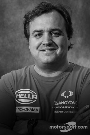 #341 Ssangyong Motorsport Koorando DKR: Oscar Fuertes Aldanondo