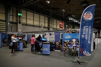 The Royal Airforce stand at Autosport International 2020