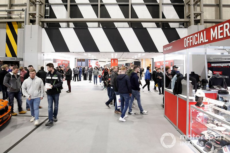A general view of the Autosport International show