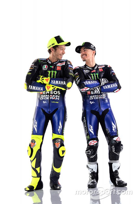 Maverick Vinales, Valentino Rossi, Yamaha Factory Racing