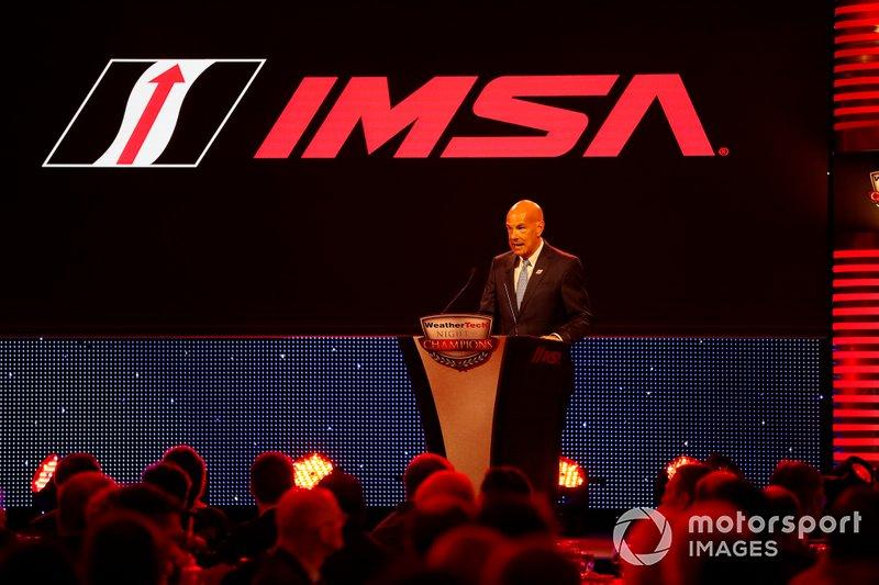 IMSA CEO and President Scott Atherton