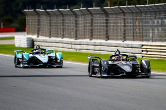 Nico Müller, GEOX Dragon, Penske EV-4 Mitch Evans, Panasonic Jaguar Racing, Jaguar I-Type 4