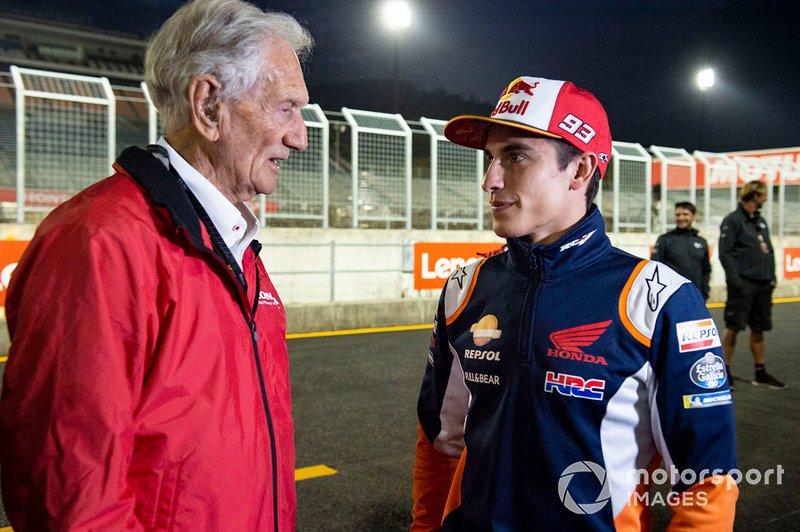 Jim Redman, Marc Marquez, Repsol Honda Team