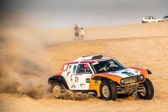 #202 X-Raid Mini JCW Team: Yasir Seaidan, Alexey Kuzmich