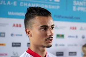 Pascal Wehrlein, Mahindra Racing talks to the press