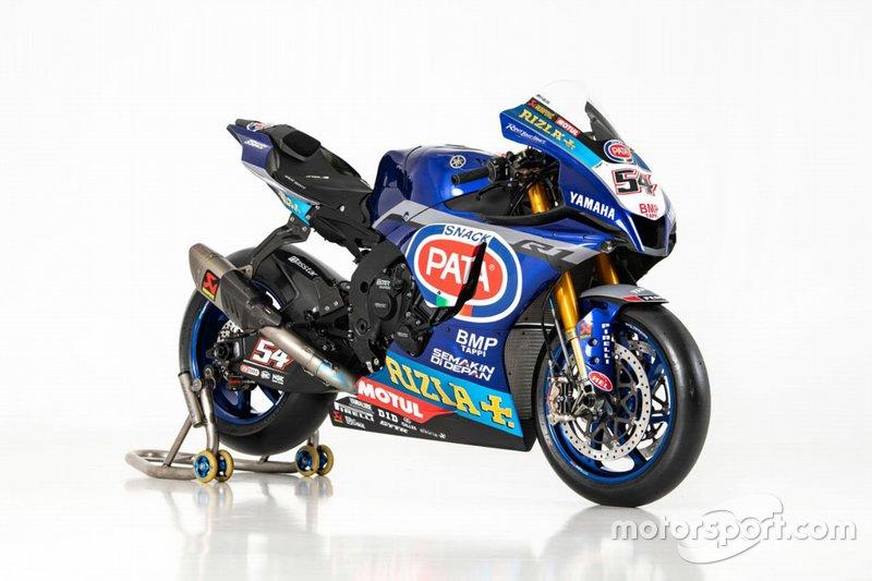 La moto de Toprak Razgatlioglu, Pata Yamaha
