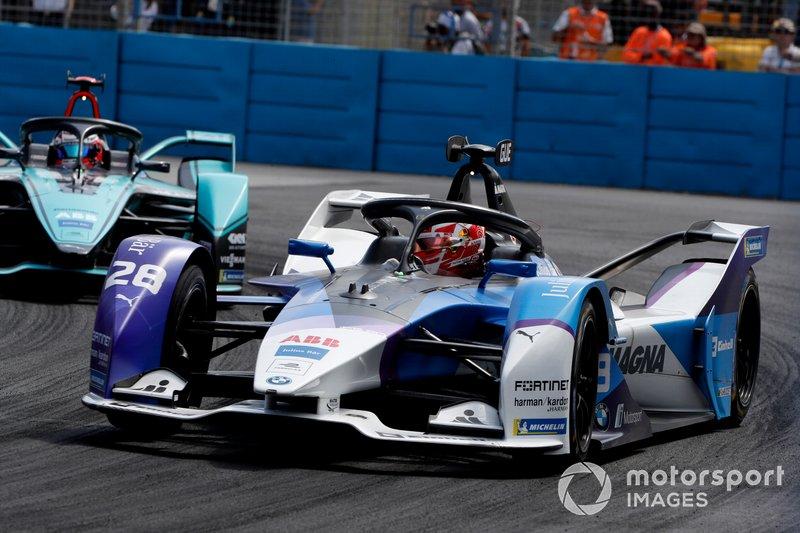 Maximilian Günther, BMW I Andretti Motorsports, BMW iFE.20 Mitch Evans, Jaguar Racing, Jaguar I-Type 4