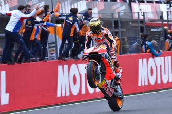 Race winner Marc Marquez, Repsol Honda Team fan