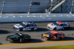 Kurt Busch, Chip Ganassi Racing, Chevrolet Camaro Monster Energy Ty Dillon, Germain Racing, Chevrolet Camaro GEICO