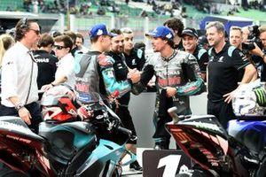 Fabio Quartararo, Petronas Yamaha SRT, Franco Morbidelli, Petronas Yamaha SRT