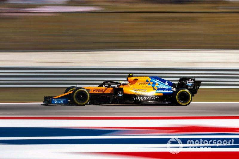 Ландо Норрис, McLaren MCL34