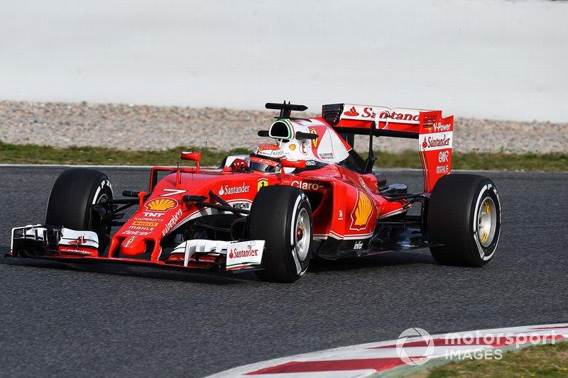 2016: Kimi Raikkonen, Ferrari: 1:22.765
