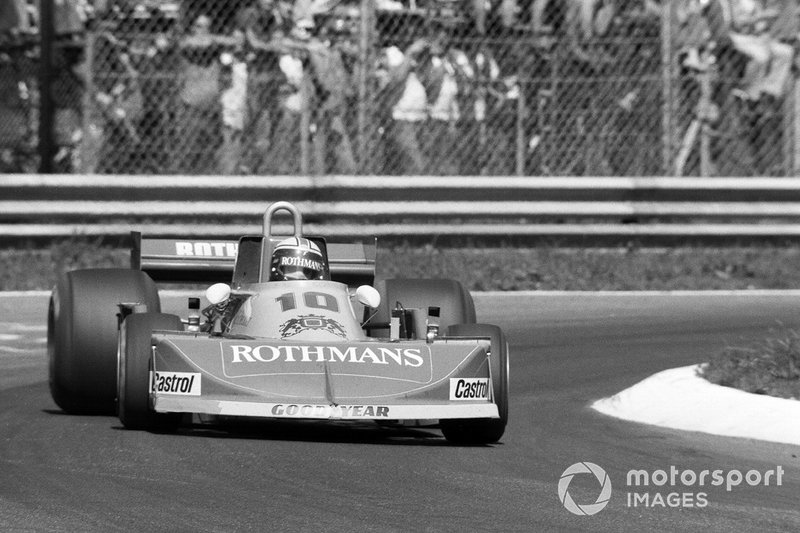 Ian Scheckter - 18 grandes premios