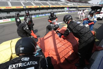 Extraction practice on track