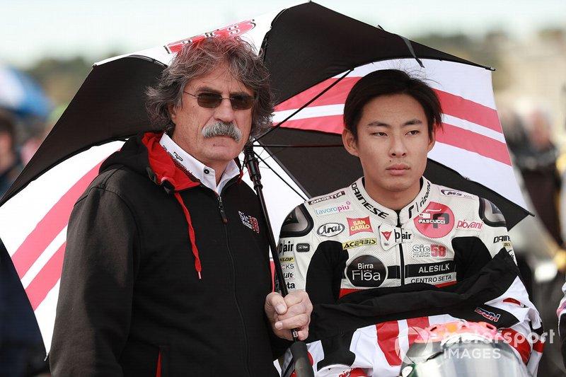 Paolo Simoncelli, Tatsuki Suzuki, SIC58 Squadra Corse