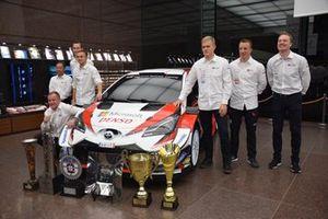Il team TOYOTA GAZOO Racing WRC 2019