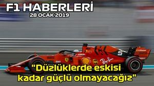 28 Ocak F1 Haberleri