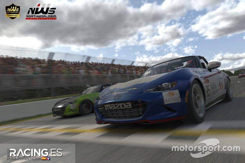 European SimRacing Masters - Carrera 1. Gilles Villeneuve
