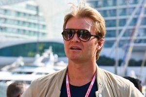Nico Rosberg, retired world champion and Sky pundit