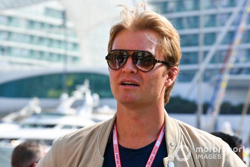 Nico Rosberg, ex Campione del Mondo e opinionista Sky
