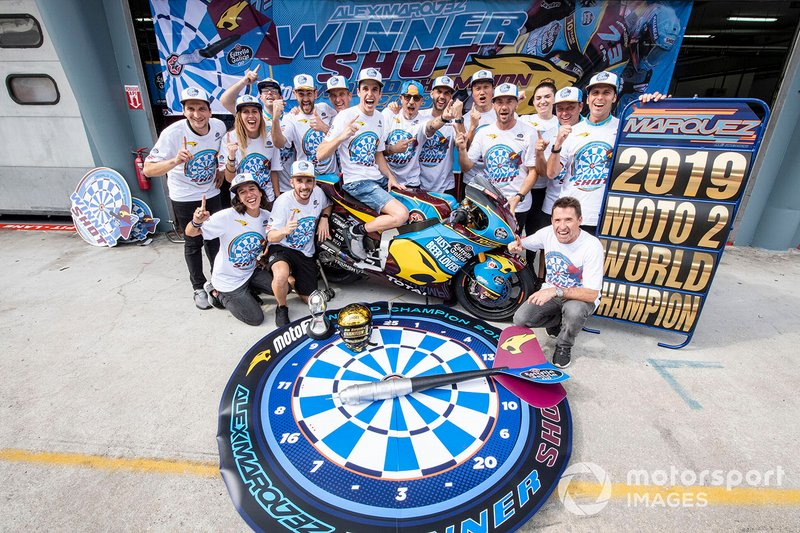 Alex Marquez, Marc VDS Racing World champion