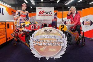 Marc Marquez, Repsol Honda Team, mit Jim Redman