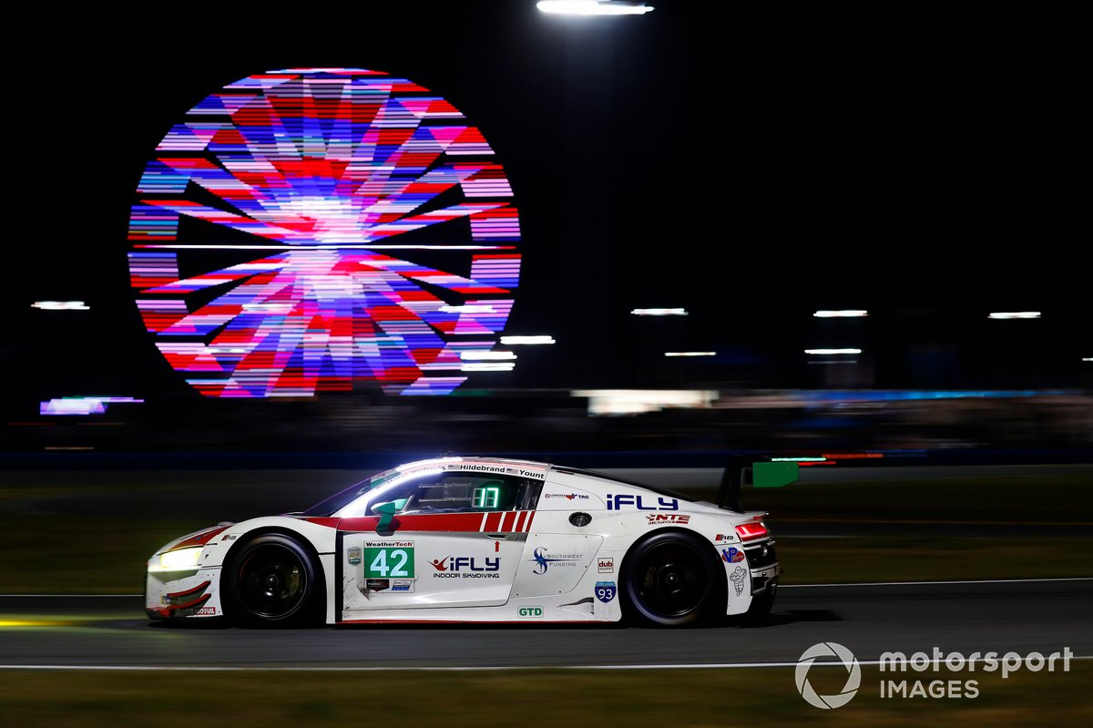 #42: NTE Sport Audi R8 LMS GT3, GTD: Alan Metni, Andrew Davis, JR Hildebrand, Don Yount