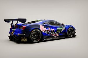 AF Corse Red Bull design for Liam Lawson